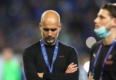 """Pep Guardiola luego de perder la final de Champions League: """"Ojalá podamos volver"""""""