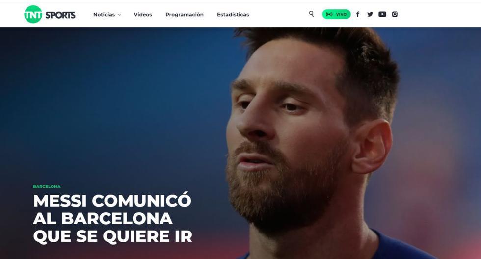 Así reacciona el planeta a la salida de Messi del Barça luego de 20 años