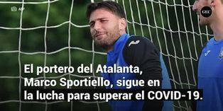 Marco Sportiello, arquero del Atalanta, dio nuevamente positivo por coronavirus