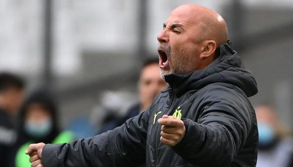 Jorge Sampaoli es entrenador de Olympique de Marsella desde marzo pasado. (Foto: AFP)