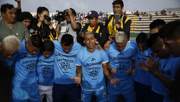 Deportivo Llacuabamba fue campeón de la Copa Perú en 2019. (GEC)