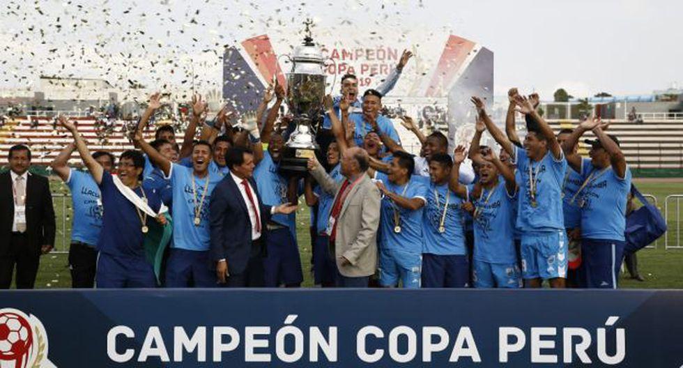 Llacuabamba empató 2-2 con Carlos Stein y se proclamó campeón de la Copa Perú. (Foto: Renzo Salazar / GEC)