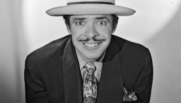 """""""Tin Tan""""; fue un artista muy versátil y se destacó como un cómico que cantaba, actuaba y hasta doblaba películas.  (Foto: Univisión)"""