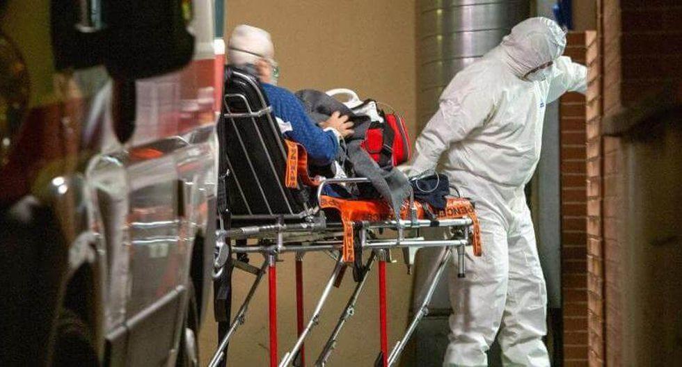 El paciente fue dado de alta en medio de la pandemia que ya lleva más de 8.000 muertes. (Foto: Gentileza France Info)