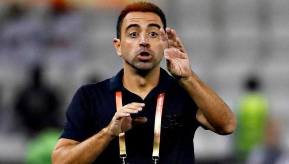 Xavi Hernández no esconde su deseo por asumir la dirección técnica del Barcelona. (Foto: EFE)