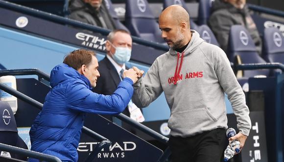 Tuchel le ha ganado los dos últimos duelos a Guardiola en Inglaterra. (Foto: EFE)