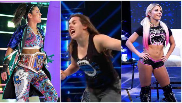 Bayley y Alexa Bliss se verán las caras en Extreme Rules 2019. Lo más probable es que Nikki Cross acompañe a Alexa en esa lucha. (WWE)
