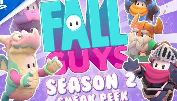 Fall Guys Temporada 2: nuevos mapas, skins, minijuegos y más detalles del gran parche. (Foto: PlayStation)