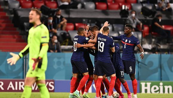 Francia sumó su primeros tres puntos por el Grupo F de la Eurocopa. (Foto: Agencias)