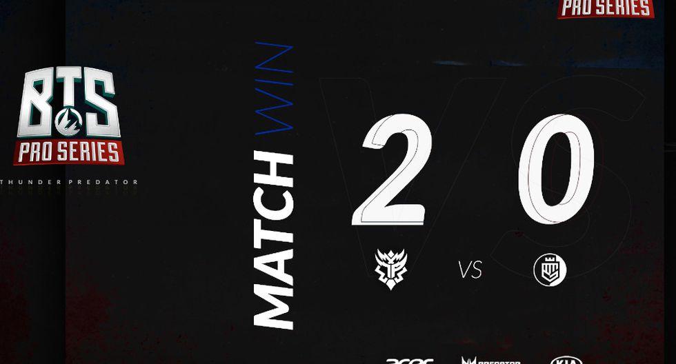 Dota 2: Thunder Predator pasa a la siguiente ronda y Beastcoast queda eliminado. (Foto: TP)