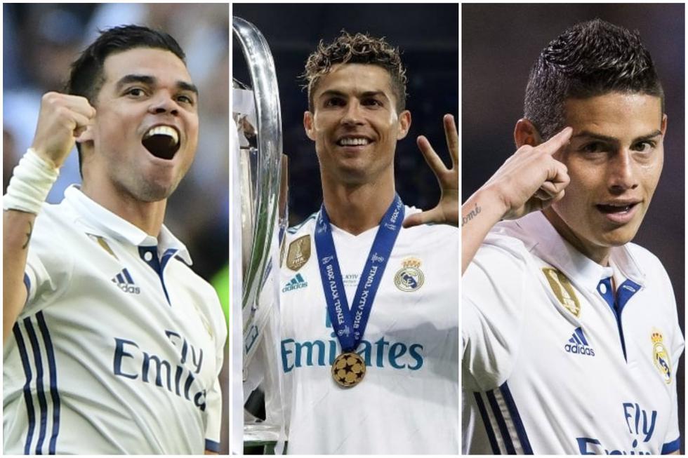 Real Madrid y el XI ideal con los fichajes más caros de su historia.