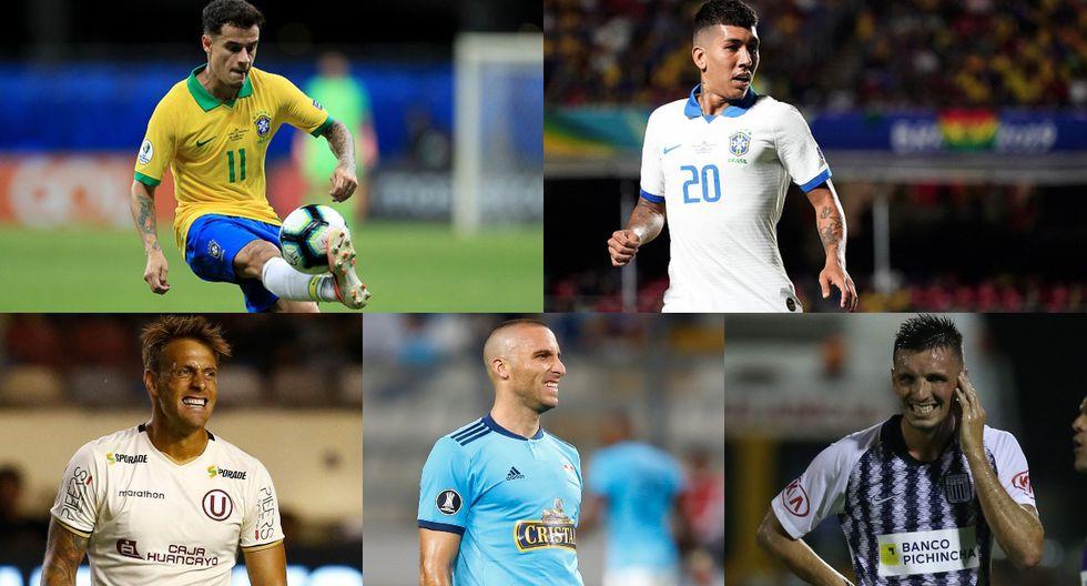 Perú vs. Brasil | Coutinho y Firmino valen más que todos los equipos de la Liga 1 (Fotos: Getty / Agencias / GEC)