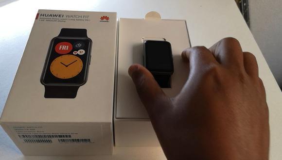 ¡Unboxing del Huawei Watch Fit! Mira todo lo que trae la caja del smartwatch