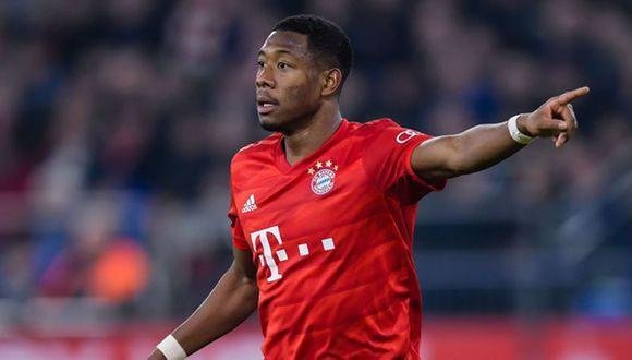 David Alaba dejaría Bayern Munich después de 12 años. (Foto AFP)