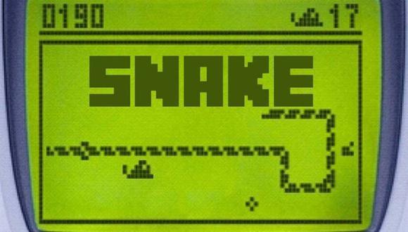 ¿Sabías cómo finaliza 'Snake', el clásico juego de los celulares Nokia? (Foto: As)