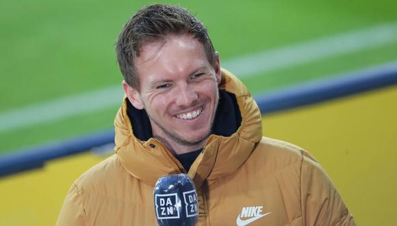 Julian Nagelsmann puede ser el entrenador de Bayern Múnich en la próxima temporada. (Foto: EFE)