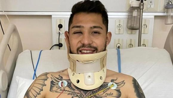 Olimpia informó del estado de salud de Salazar tras el partido ante Flamengo. (Foto: Instagram)