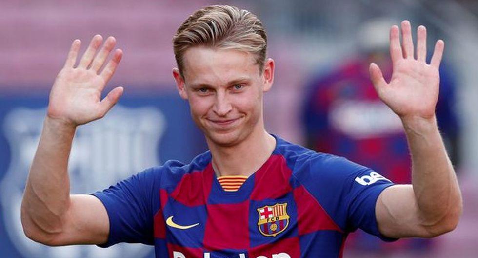 Frenkie de Jong | Barcelona | 75 millones de euros. (Getty Images)