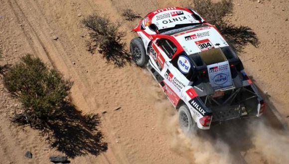 De  Villiers ganó la Etapa 5 del Dakar 2021 entre Riad y Al Qaisumah. (Agencias)