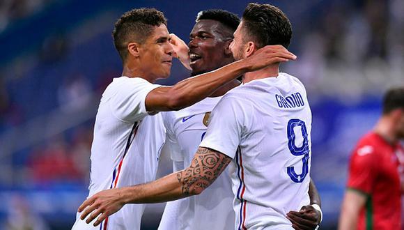 Francia venció a Alemania en su debut en la Eurocopa 2021. (Getty)