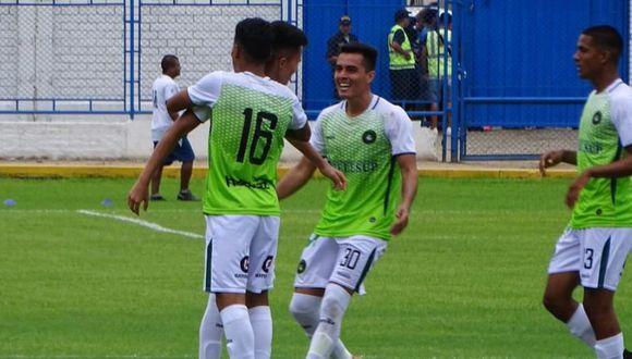 La primera celebración de Piratas FC en la Liga 1 (Foto:Figo Valenzuela/@figovalenzuela)