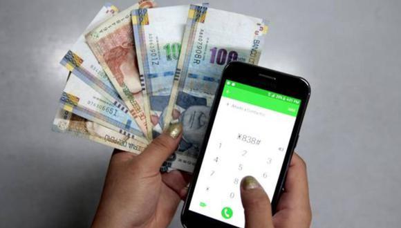 El Gobierno peruano dio a conocer el cronograma para poder registrarse en la banca celular del Banco de la Nación como medio para cobrar el bono (Foto: Andina)