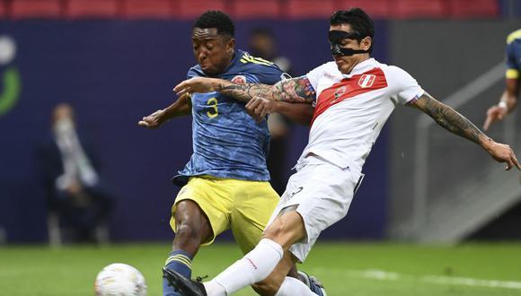 Óscar Murillo fue parte de Colombia en la Copa América 2021. (Foto: AFP)