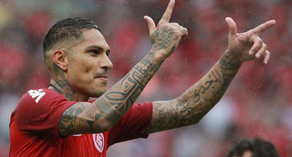 Paolo Guerrero tiene un contrato vigente con Internacional de Porto Alegre hasta 2021.