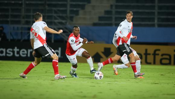 River Plate sumó se segundo empate en la Copa Libertadores 2021. (Foto: Conmebol)