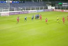 ¡Una obra de arte! Morales marca golazo de tiro libre para Sport Huancayo vs. Liverpool [VIDEO]