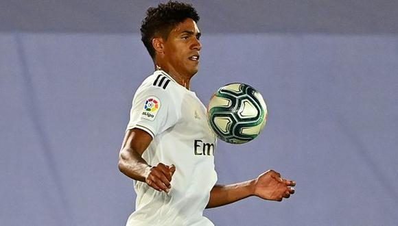 Raphael Varane es jugador de Real Madrid desde la temporada 2011-12. (Foto: AFP)