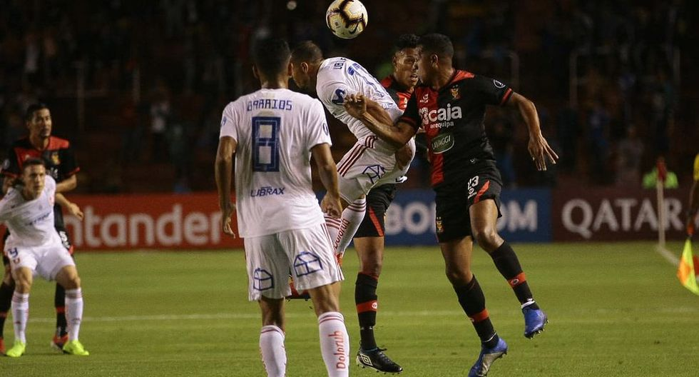 Melgar se impone 1-0 a U. de Chile por Copa Libertadores. (Foto: GEC)