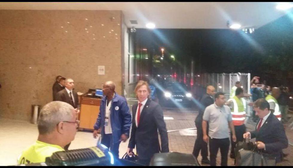 así fue la llegada de la 'bicolor' a Río de Janeiro para jugar la final de la Copa América. (Foto: Globo Sporte)