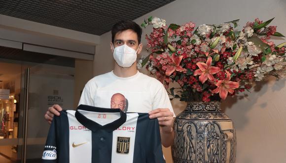 Jonathan Lacerda se ilusiona con jugar el clásico Alianza Lima vs. Universitario. (Foto: Prensa AL)