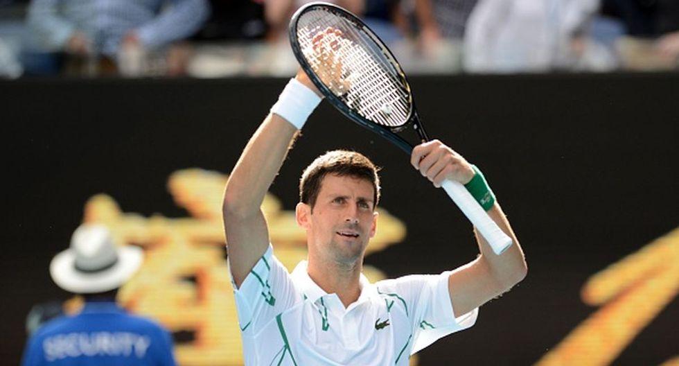 Novak Djokovic se ubica en el puesto 2 del ranking de la ATP. (Getty Images)