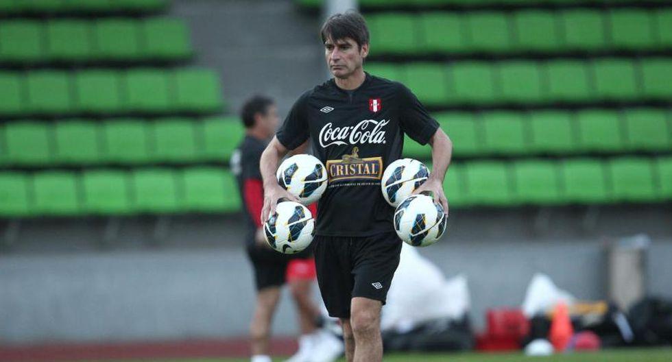 Óscar Ibáñez volverá a ser el preparador de arqueros de la Selección Peruana. (GEC)