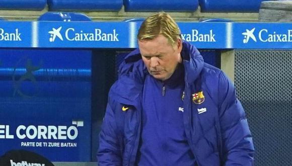 Ronald Koeman sincera su sueldo en Barcelona (Foto: AFP)