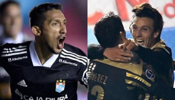 Sporting Cristal y Peñarol se enfrentarán por un lugar en las semifinales de la Copa Sudamericana. (Fotos: Agencias)