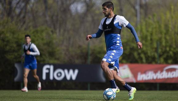 Luis Abram negocia la renovación con Vélez Sarsfield y está en la mira de club español. (Foto: Vélez Sarsfield)