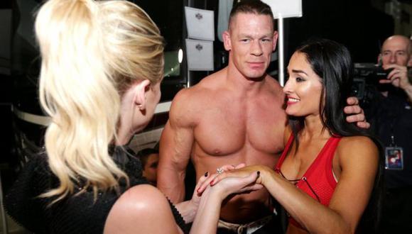 Nikki Bella reveló la razón por la que terminó su relación con John Cena. (WWE)