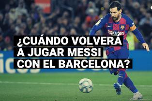 Lionel Messi y el día que debutará con el nuevo Barcelona de Koeman