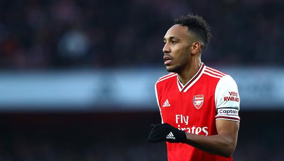Aubameyang tiene contrato hasta junio del 2021 con el Arsenal. (Foto: Getty)