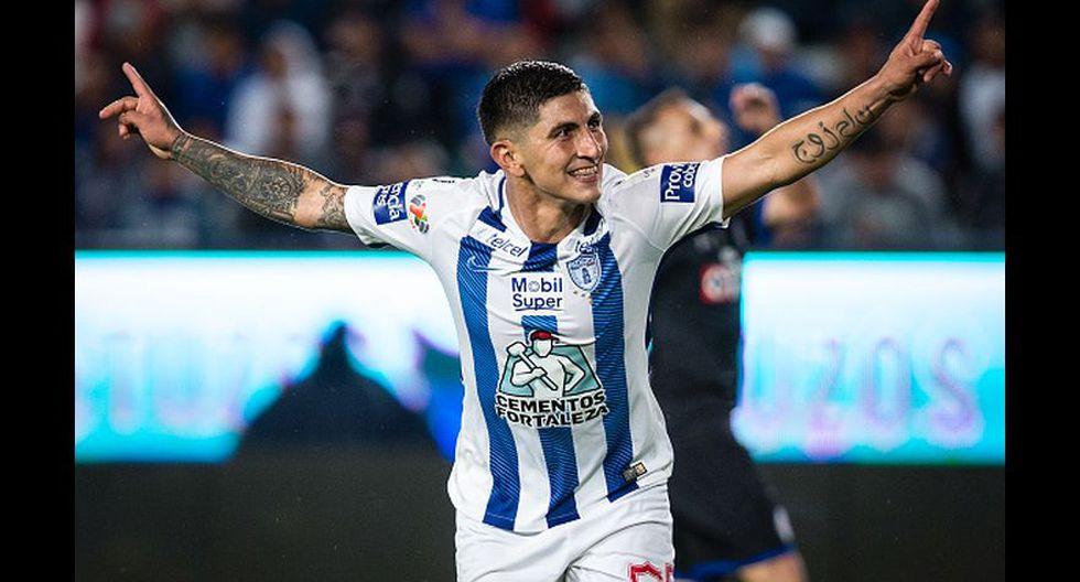 Víctor Guzmán con 6 goles (Getty Images).