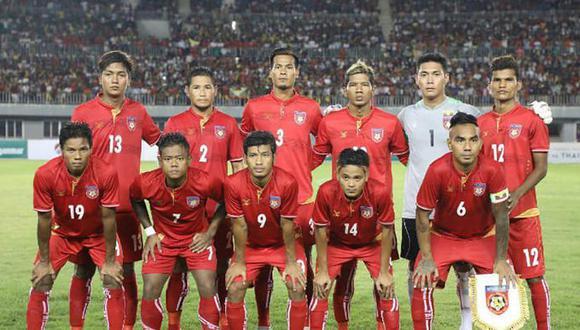 La selección de Birmania tendrá muchas bajas para el inicio de las Eliminatorias de Asia Qatar 2022. (Foto: Todo Colección)