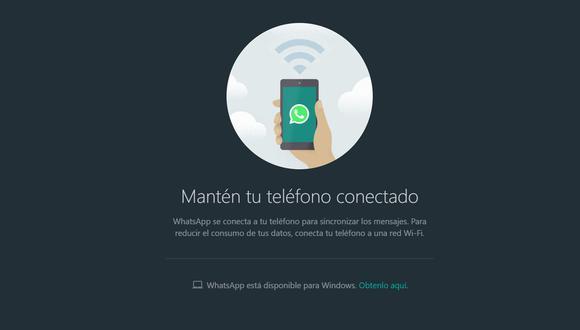 """El """"modo oscuro"""" o """"dark theme"""" llega oficialmente a WhatsApp Web y así puedes activarlo fácilmente sin problemas. (Foto: WhatsApp)"""