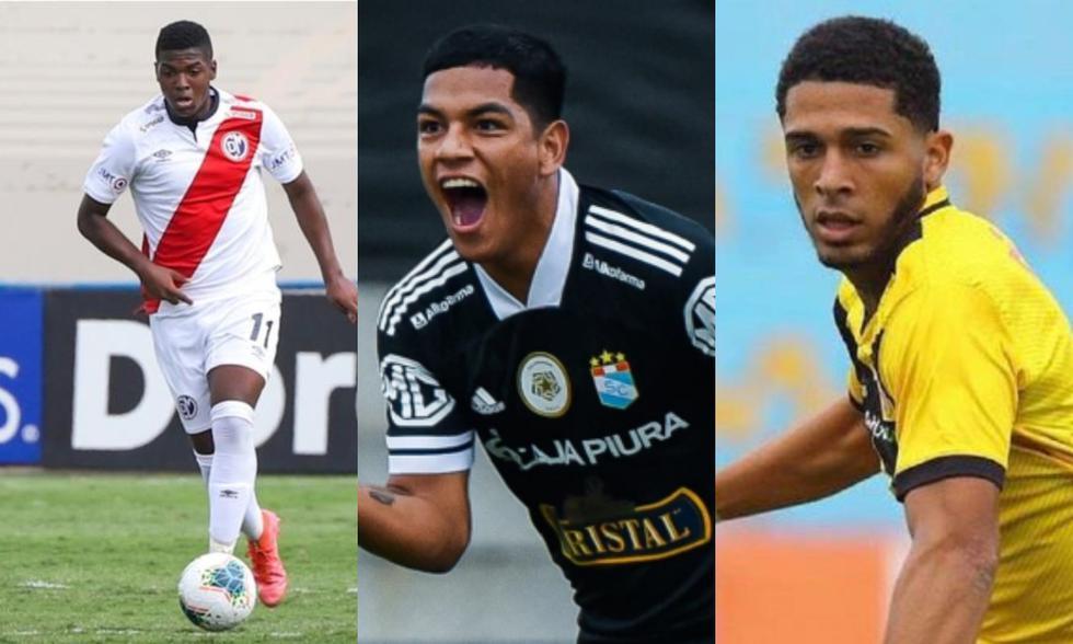Montaño, Grimaldo y Sánchez son los parte de la nueva camada de la Liga 1. (Fotos: Agencias)