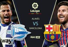 Con Lionel Messi: Barcelona vs. Alavés EN VIVO vía ESPN 2 por LaLiga Santander