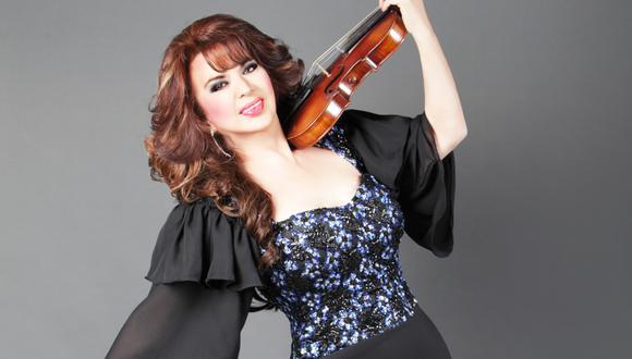 Olga Breeskin abandonó su carrera de vedette para dedicarse a dar clases de violín. (Foto: Olga Breeskin/ Instagram)