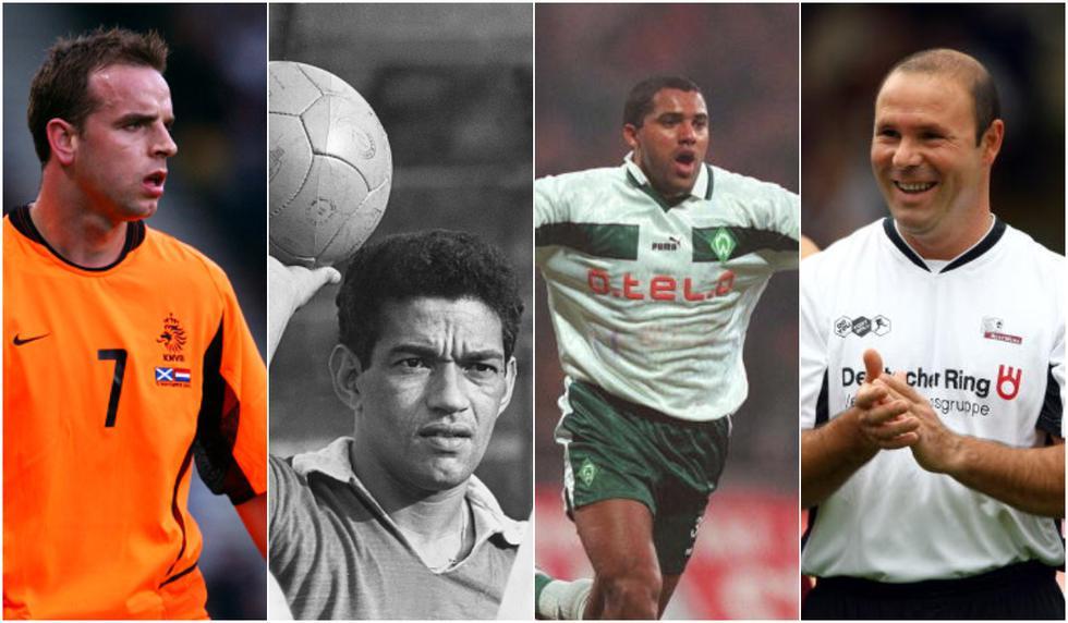12 futbolistas que quedaron en la quiebra tras dejar las canchas de fútbol.