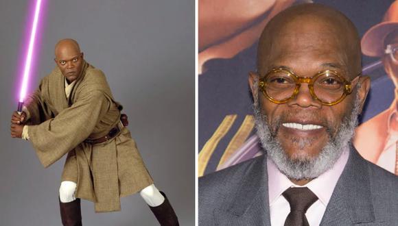 Star Wars: Disney buscaría traer de regreso a Windu (Samuel L. Jackson). (Foto: AFP)